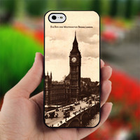 Big Ben Tower - design for iPhone 4/4S Black case