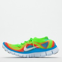 Nike / Nike Free Flyknit+ in Electric Green