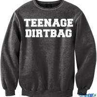 Black Teenage Dirtbag Crewneck