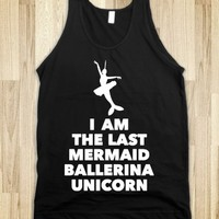 Mermaid Ballerina Unicorn