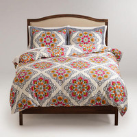 Fiesta Medallion Duvet and Pillow Shams Set