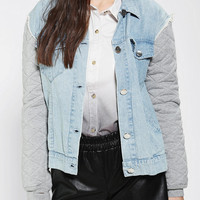 Urban Outfitters - Tallow Bambu Lightweight Denim Jacket