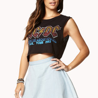 Girly Chambray Skater Skirt | FOREVER21 - 2077602105