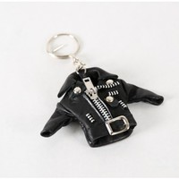 wacky wacko jacket key chain Oak