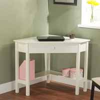 Corner Desk - Antique White | Meijer.com