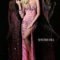 Sherri Hill 21133 Beaded Prom Pageant Dress