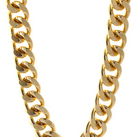 18mm Yellow Gold Cuban Curb Chain