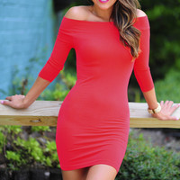The Softest Dress: Bright Red | Hope's