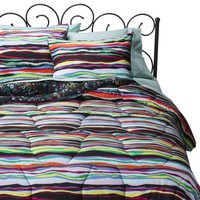 Xhilaration® Layered Stripe Reversible Comforter Set