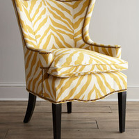Sunflower Zebra Chair