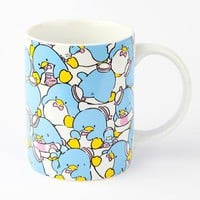 Tuxedosam 14oz Ceramic Mug: Busy Day