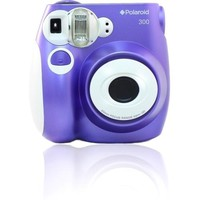Polaroid - PIC 300 Instant Film Camera - Purple