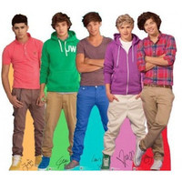 1D One Direction Lifesize Cardboard Cutout Stand up Harry Styles Niall Horan