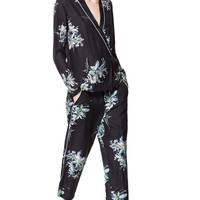 PRINTED PAJAMA BOTTOMS - Trousers - Woman - Sale | ZARA United States