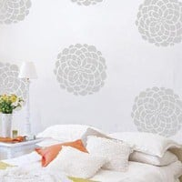 Bloom Wall Pattern Decal