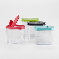 Plastic Mini Keepers Storage Containers, Set of 4 - World Market
