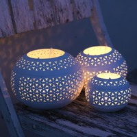 Nkuku Petal tealight holders - Pop! Gift Boutique
