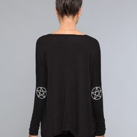 Renee Star Dolman Top - Black - What's New | GYPSY WARRIOR