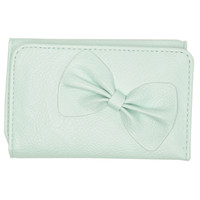 Adorable Bow Foldover Wallet | Shop Accessories at Wet Seal