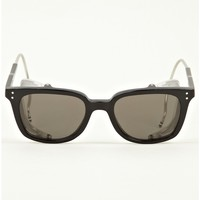 Thom Browne Men's TB-018 Black Matte Sunglasses