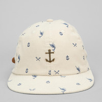 Urban Outfitters - Dark Seas Anchor Strap-Back Hat