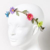 Flower and Rope Headband  | Claire's