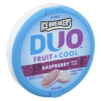 Ice Breakers Duo Raspberry Sugar-Free Mints 1.3 oz