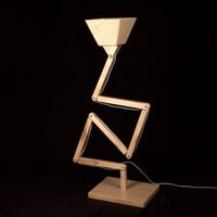 Wooden Floor Lamp DL022 BlackGizmo from BlackGizmo | Made By BlackGizmo Design | £299.00 | BOUF
