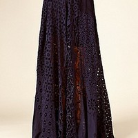 Free People  FP ONE Eyelet Lace Maxi  at Free People Clothing Boutique