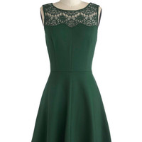 Conifer What It's Worth Dress | Mod Retro Vintage Dresses | ModCloth.com