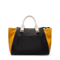BOWLING BAG WITH SUEDE SIDES - Handbags - Woman | ZARA United Kingdom
