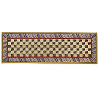 MacKenzie-Childs - Courtly Check Rug - 2'6″ x 8' Runner