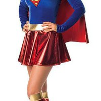 On Sale - Sexy Supergirl Adult Halloween Costume