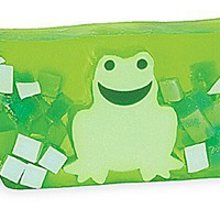 Primal Elements Soap Loaf, Green Frog, 5-Pound Cellophane