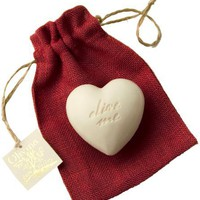 Olivina Bath Soap-Heart, Classic Olive, 8 Ounce