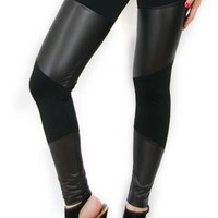 Black Leggings/Tights - Izabel II [Leggings,Tights,Bottoms,Pants] | UsTrendy
