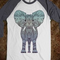 Brandnew *** TRIBAL ELEPHANT *** ILLUSTRATION by Monika Strigel for Skreened.com in different sizes and styles