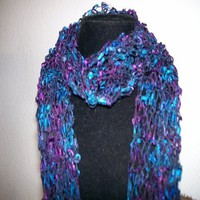 hand knitted scarf | Annesknits - Knitting on ArtFire