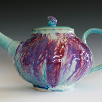 DISCOUNTED Large Teapot Handmade pottery Ceramic by ocpottery