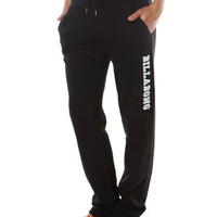 SURFSTITCH - WOMENS - BASICS - BILLABONG EVERYDAY TRACKSUIT PANT - BLACK