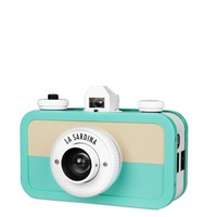 La Sardina Dress for La Sardina 35mm Camera – Sand and Seafoam