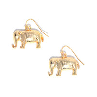 Elephant Drops | Jeweliq Fashion Earrings