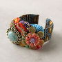 Dutch Wax Collage Cuff-Anthropologie.com