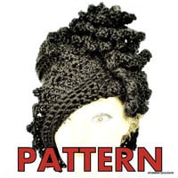 Pattern Crochet Hat Cloche Couture PDF by strawberrycouture