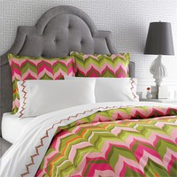 Pink Flame Duvet Cover
