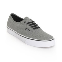 Vans Authentic Grey & White Shoe at Zumiez : PDP