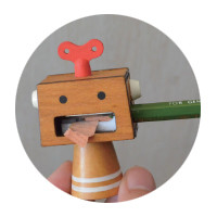 Japanese Gift Market - Decole -  Pencil Sharpener Robo