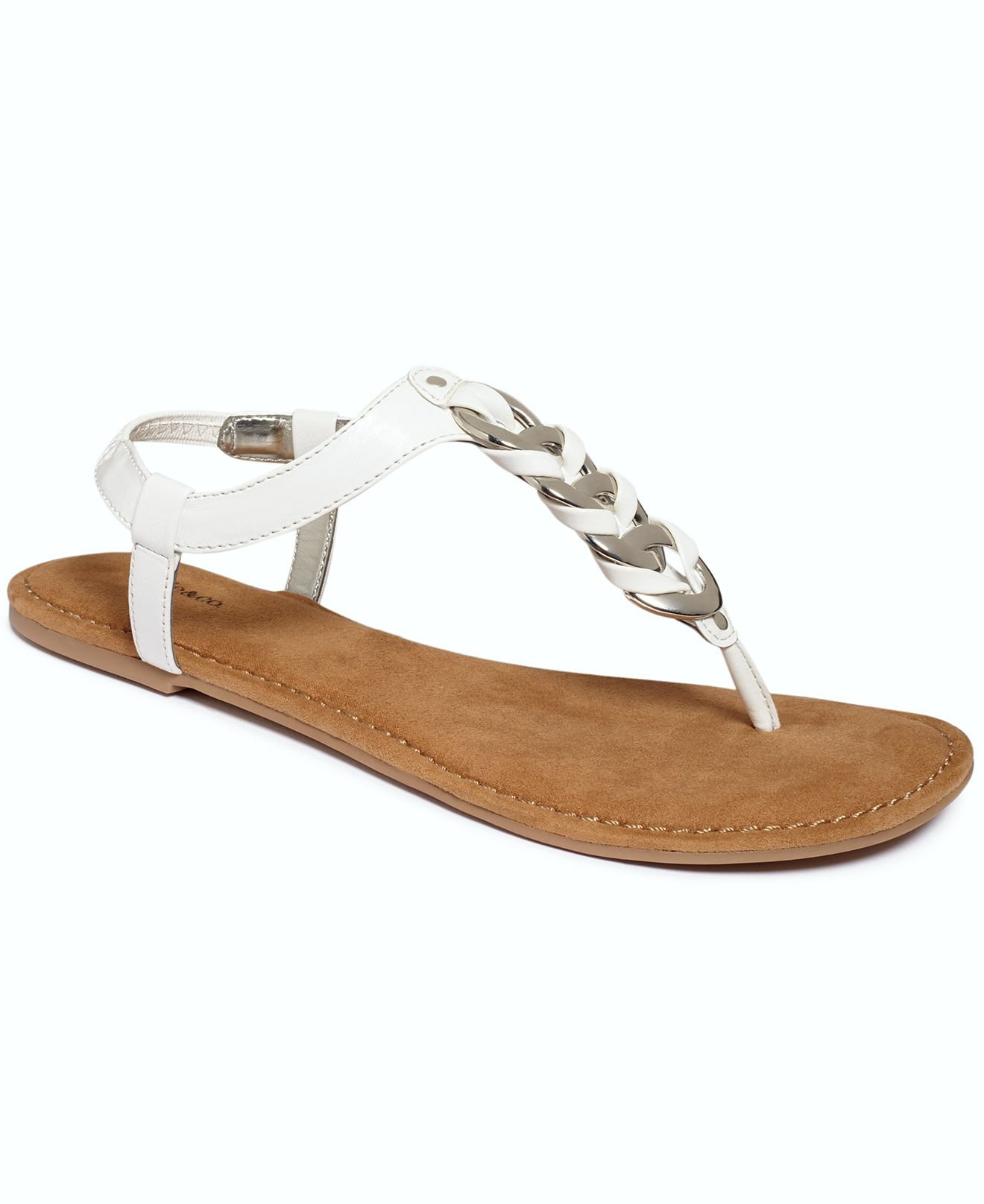 Shoes, Jinger Flat Thong Sandals  All Women39;s Shoes  Shoes  Macy