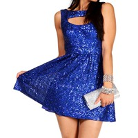 Jordan Royal Homecoming Dress