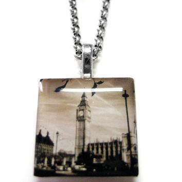 Big Ben Pendant Necklace
